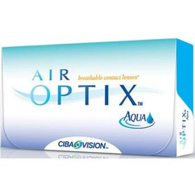 Контактные линзы Air Optix Aqua 3pk, -10/8,6, в наборе 3 шт