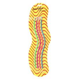 Набор карандашей чернографитных, гнущиеся, с ластиками, 4 шт., с блёстками, МИКС