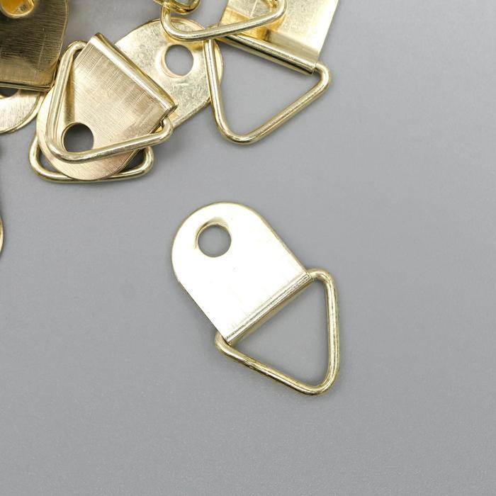 Подвес металл для фоторамкикартины золото 2х1,3 см