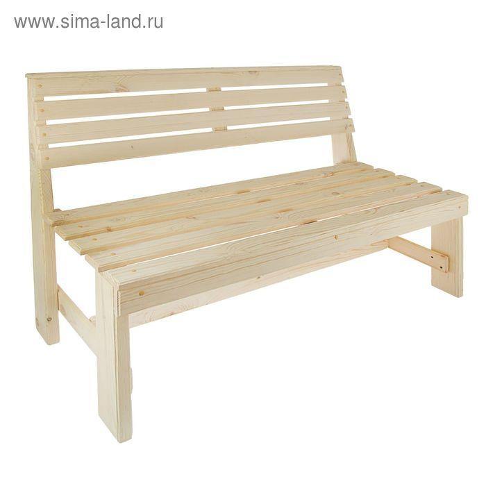 """Добропаровъ / Скамейка к набору """"Дачный"""" 120 см"""