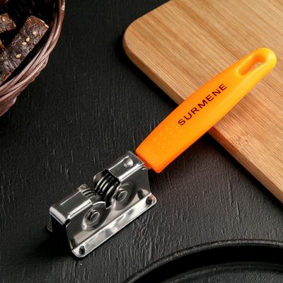 Точилка для ножей Доляна «Оранж», 19×3,5 см - Фото 1