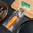 Точилка для ножей Доляна «Оранж», 19×3,5 см - Фото 3