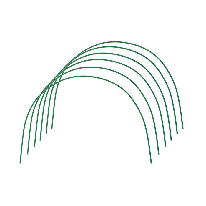 Дуги для парника, металл в кембрике 2 м, d = 10 мм, набор 6 шт.