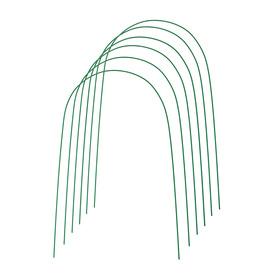 Дуги парниковые 4 м, 6 шт., d = 10 мм, в кембрике
