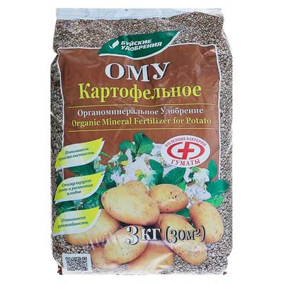 Удобрение органоминеральное картофельное, 3 кг - Фото 1