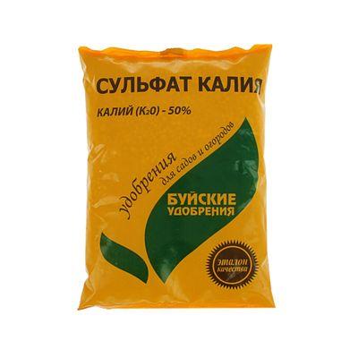 Удобрение минеральное Сульфат калия (калий сернокислый), 0,9 кг - Фото 1