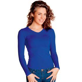 Футболка женская, размер 46, цвет синий Ош