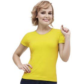 Футболка женская, размер 46, цвет жёлтый Ош
