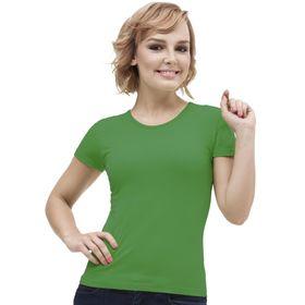Футболка женская, размер 42, цвет зелёный Ош