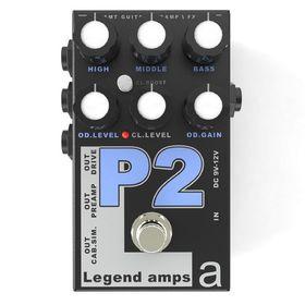 Двухканальный гитарный предусилитель AMT Electronics P-2 Legend Amps 2