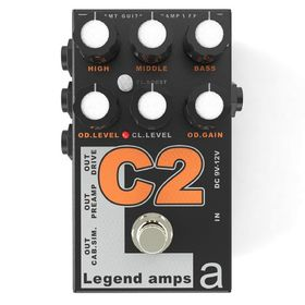 Двухканальный гитарный предусилитель AMT Electronics C-2 Legend Amps 2