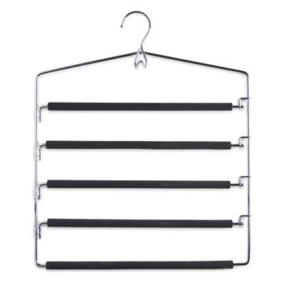 Вешалка для одежды, 5 ярусов, металл, силикон - Фото 1