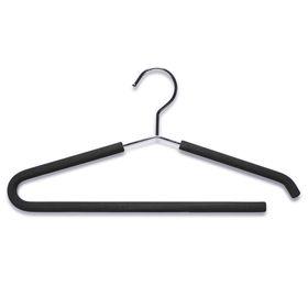 Вешалка для одежды металл, силикон