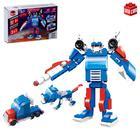 Конструктор-робот «Защитник», 151 деталь, 3 варианта сборки