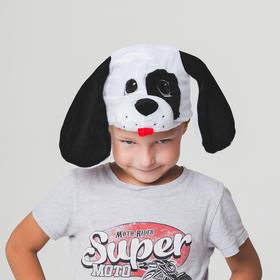 Шапка 'Собака далматинец'  обхват головы 52-57см Ош