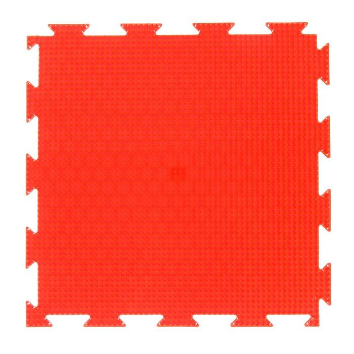 Массажный коврик - пазл, 1 модуль Орто. Трава жёсткая, цвета МИКС