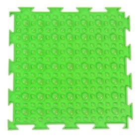 Массажный коврик 1 модуль «Орто. Камешки», цвета МИКС Ош