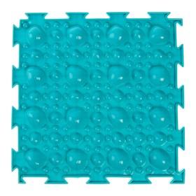 Массажный коврик 1 модуль «Орто. Камни мягкие», цвета МИКС Ош