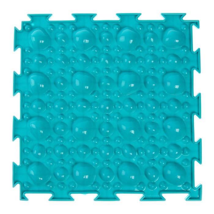 Массажный коврик 1 модуль Орто. Камни мягкие, цвета МИКС