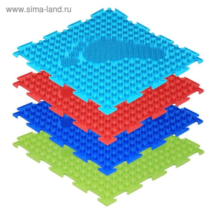 Массажный коврик 1 модуль «Орто. Ёлочка», МИКС