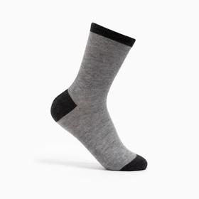 Носки женские, размер 23-25, цвет серый