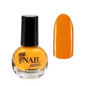 Лак для ногтей, 9мл, цвет 024-086 светло-оранжевый Ош