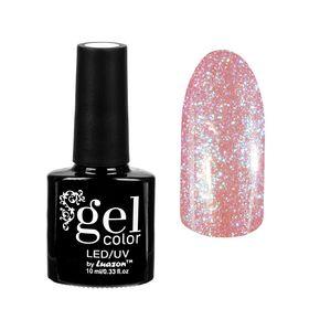 "Гель-лак для ногтей ""Горный хрусталь"", трёхфазный LED/UV, 10мл, цвет 003 розово-голубой"
