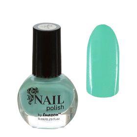 Лак для ногтей, 9мл, цвет 032-109 светло-голубой Ош