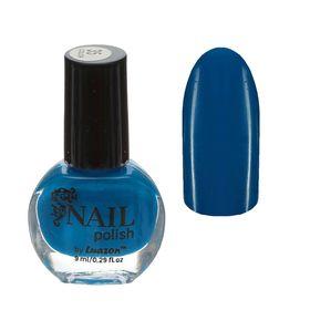 Лак для ногтей неоновый, 9мл, цвет 035-115 синий Ош