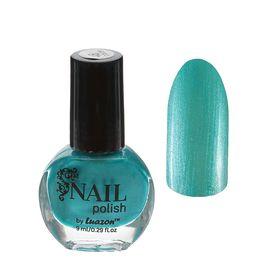 Лак для ногтей, 9мл, цвет 048-158 голубой перламутровый Ош