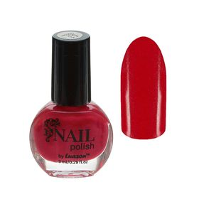Лак для ногтей, 9мл, цвет 053-166 ярко-розовый перламутровый Ош
