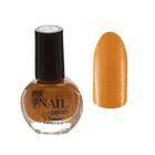 Лак для ногтей с блёстками, 9мл, цвет 071-206 золотой