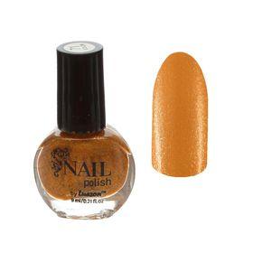 Лак для ногтей с блёстками, 9мл, цвет 071-206 золотой Ош