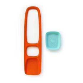 Лопата с ситом для песка и снега Quut Scoppi, цвет оранжевый