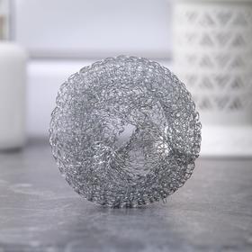 Набор мочалок для посуды металлических «Сафи Тэкс», 10 шт
