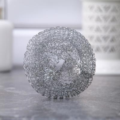 Набор мочалок для посуды металлических АкваМаг «Сафи Тэкс», 10 шт