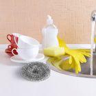 Набор мочалок для посуды металлических «Сафи Тэкс», 10 шт - Фото 3