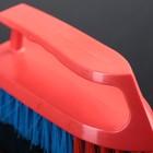 Щётка-утюжок большая средней жёсткости АкваМаг, длина щетины 2,7 см, цвет МИКС - Фото 2