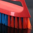 Щётка-утюжок большая средней жёсткости АкваМаг, длина щетины 2,7 см, цвет МИКС - Фото 3