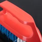 Щётка-утюжок средняя средней жёсткости АкваМаг, длина щетины 2,5 см, цвет МИКС - Фото 2