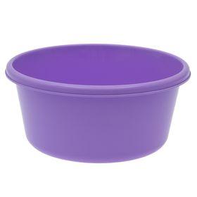 Таз круглый IDEA, 6 л, цвет лиловый Ош