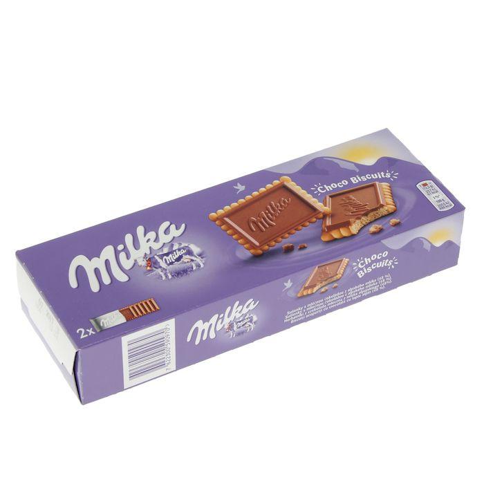 Бисквит Milka Choco Biscuits Cookies, 150 г