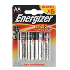 Батарейка алкалиновая Energizer Max +PowerSeal, AA, LR6-6BL, 1.5В, блистер, 6 шт. - Фото 3