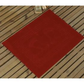Коврик Likya, размер 50x70 см, цвет красный