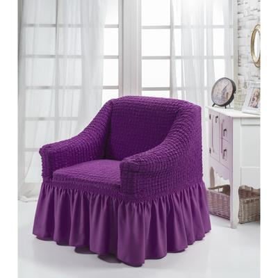 Чехол для кресла BULSAN, 360 гр/м2, цвет фиолетовый