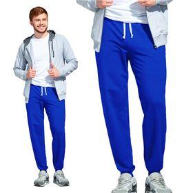 Брюки мужские, размер 50, цвет синий Ош