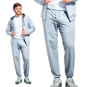 Брюки мужские, размер 52, цвет серый меланж Ош