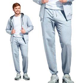 Брюки мужские, размер 54, цвет серый меланж Ош