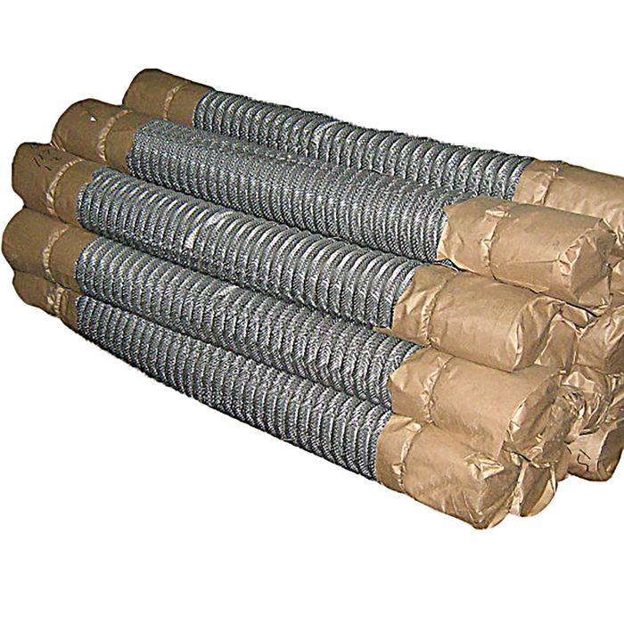 купить Сетка-рабица ячейка 55х55 мм, толщина 1,6мм, оцинкованная размер рулона 1,5х10м