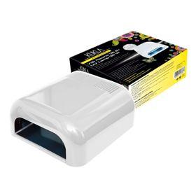 "Лампа для гель-лака JessNail 230 ""KUKLA"", UV, 36 Вт, белая"